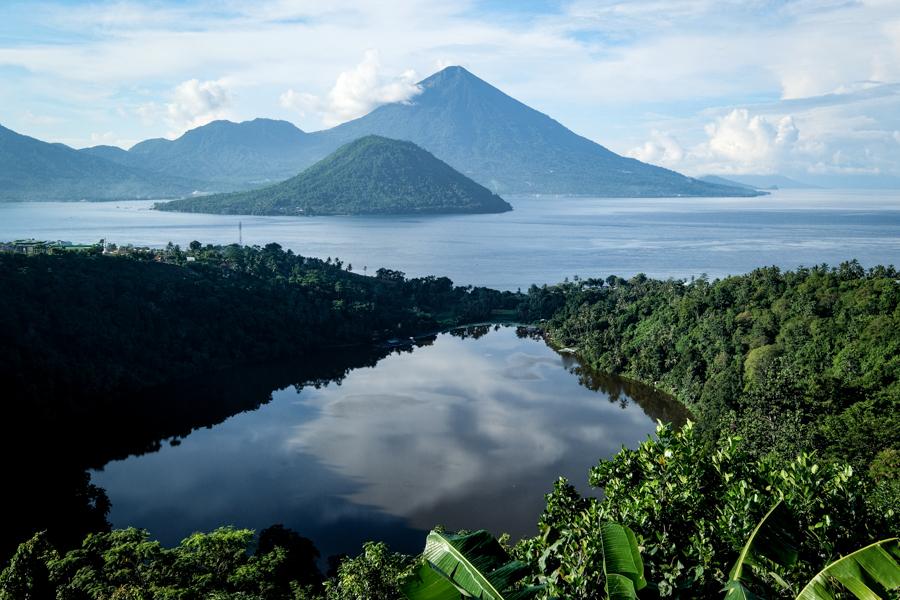 Danau Ngade Lake Ternate Maluku Indonesia