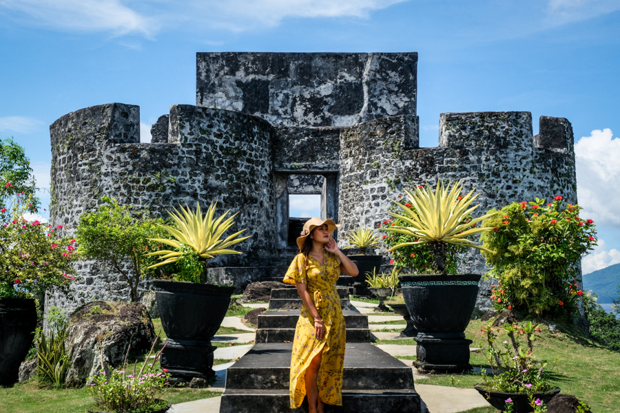 Benteng Tolukko Fort Ternate Maluku Indonesia