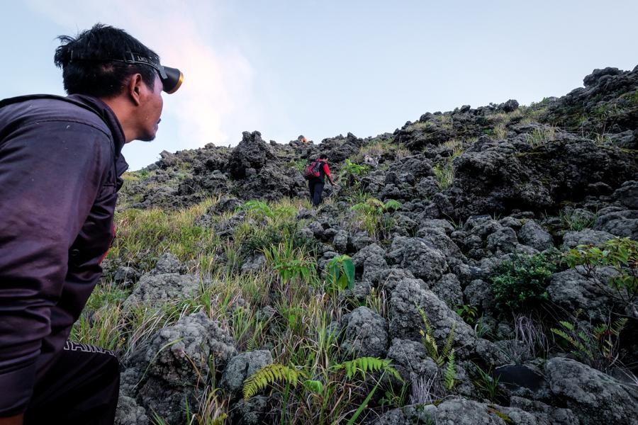 Climbing Gunung Karangetang Sulawesi Indonesia
