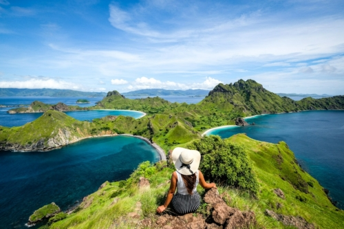 Padar Island in Komodo Indonesia